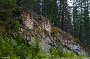 Cliff across the Creek