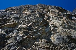 Rock overhead