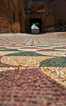millions of tiny floor tiles