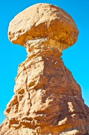 Bright Balanced Rock
